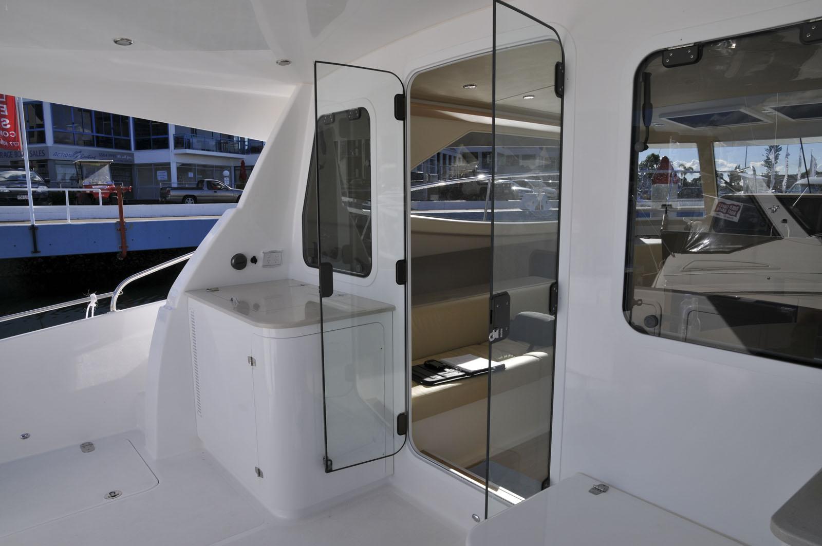 Argus Boats E35 Cruising Power Catamaran Fit Out
