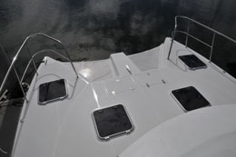 Foredeck area