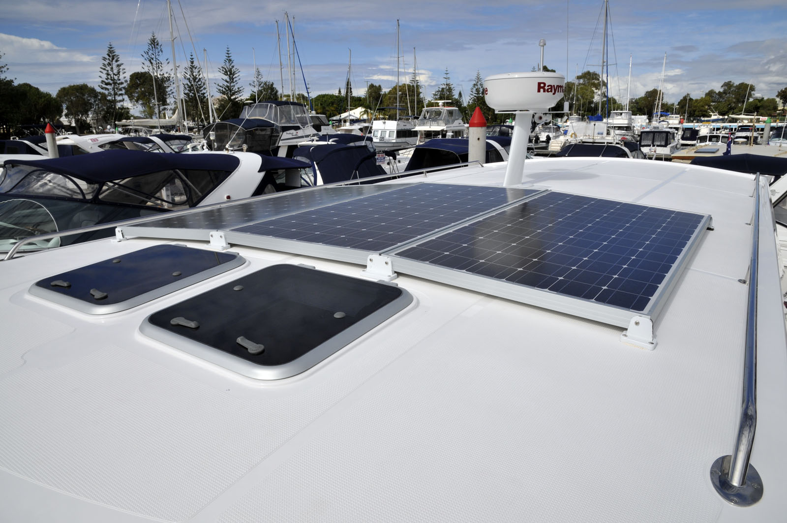 Solar Panels For Boats photos